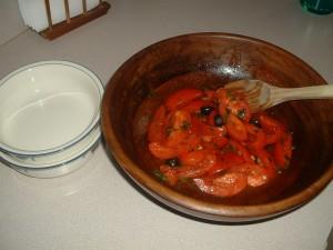 Spanish Style Tomato Salad