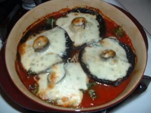 Portobello Mushroom Parmigiana
