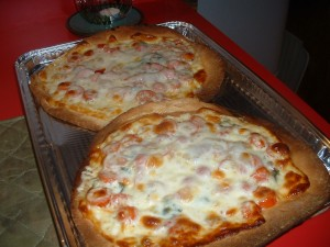 Naan Bread Pizza Margherita