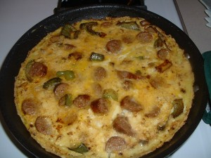 Sausage and Pepper Frittata