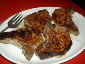 Brined Grilled Pork Chops