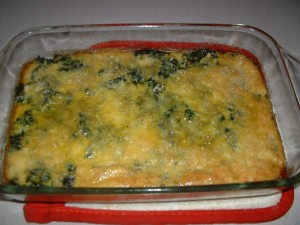 Kale And Egg Pie