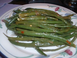 Green Beans with Lime Vinaigrette