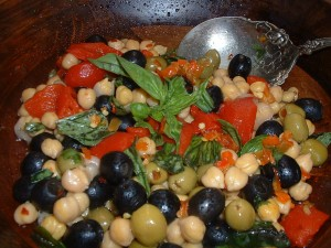 Chick Pea Antipasto Salad