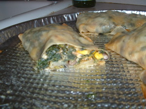 Mexican Style Vegetarian Egg Rolls