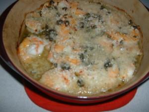 Baked Shrimp Piccata